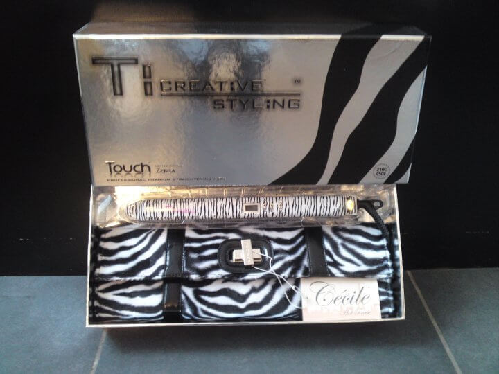 TI Creative Styling Touch Zebra